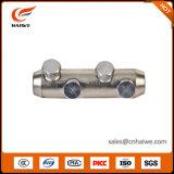 Metalen kap van de Kabel van de compressie de Bimetaal Vastgeboute