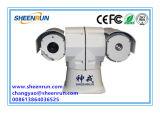 1km de Op een voertuig gemonteerde PTZ HD IP Camera van de Visie van de Nacht van de Laser (shr-HLV535)