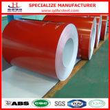 Покрынный цвет ASTM A653m PPGI Prepainted стальная катушка