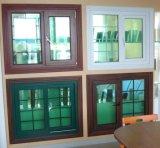 Guichet en verre de tissu pour rideaux de PVC de 60 séries de fournisseur dans Zhejiang, Chine (PCW-037)
