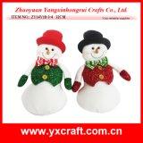 Jouets d'enfants d'ornement de bonhomme de neige de Noël de la décoration de Noël (ZY14Y16-1-2)