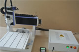 木製MDFの切断の彫版のデスクトップの趣味最もよい価格の小型CNCのルーター機械6090