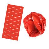 Écharpe personnalisée de tube avec insérer le papier pour la promotion