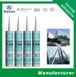 Mastic de silicone de guichet de certification de GV (Kastar730)