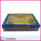 Boîtes à cartes faites sur commande de note, boîtes à cartes de mot, cadres de Flashcards