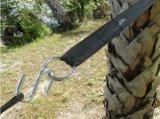 Mehrfachverwendbare Befestigung-Kabelbinder stellten, justierbarer Vielzweckhaken und die Schleife ein, die Brücken befestigt
