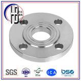304/316 bride de collet de soudure d'ajustage de précision de pipe d'acier inoxydable, ASTM