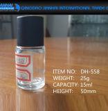 매니큐어를 위한 6ml-15ml 작은 Sylinder 모양 유리병