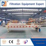 Presse hydraulique de filtre à plaque de chambre de Dazhang pour l'asséchage de boue
