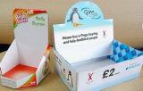 Gewölbte Papierkasten-Farbe Box-D19