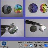 Contrassegno autoadesivo di stampa impermeabile resistente UV dell'animale domestico del PVC