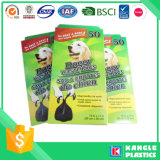 Sachet en plastique biodégradable amical de dunette d'animal familier d'Eco