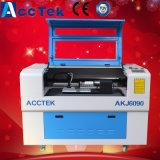 acrílico del tubo del laser del CO2 de 80W Reci, tela, plexiglás, botella de Galss, cortadora del grabado del laser 3D del CNC de la taza pequeña 6090