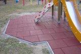 EPDMの体操の床のゴム製タイル、Crossfitのためのゴム製体操の床