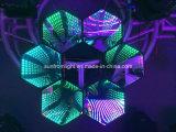 特別なTunnel Effect RGB 3in1 3D Infinite LED Wall Screen