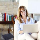 Ranurador del ADSL WiFi de Telpo Tpx820 4G Lte con los accesos del SIP