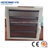 Ventana del obturador de la aleación de aluminio de Roomeye con el vidrio de flotador