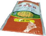 Sac tissé par pp à céréales fourragères de la Chine