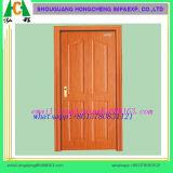 Natürliches dunkles Walnuss-hölzernes Furnier-Blatt geformte Tür-Haut