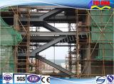 Scala/piattaforma d'acciaio per il workshop/magazzino (saldati)