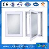 Guichet vers l'intérieur d'inclinaison de tissu pour rideaux en aluminium en verre pour la Chambre de villa, appartement, hôtel, construisant