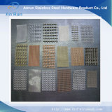 Starke Maschendraht des Zelle-Hochleistungsmessing-304 quetschverbundener des Edelstahl-316 Webart für Verkauf