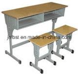 공장에서 Morden에 의하여 설치되는 두 배 학생 책상 그리고 의자의 표준 크기