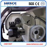 Het Controlemechanisme CNC die van Fanuc van de Draaibank van China CNC met Hydraulische Klem Ck6150t draaien