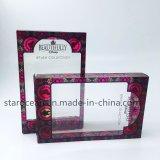 Plástico personalizada caja clara del PVC para la colección del cepillo con UV Impresión