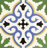 Azulejo español de la decoración del estilo para la sala de estar Green20*20cm