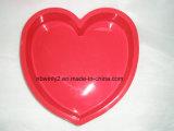 Moulage de gâteau de silicones de type de coeur