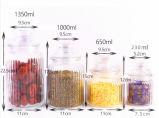 Опарник чая опарника еды опарника дешевого опарника хранения цены стеклянного стеклянный