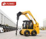Caricatore del manzo di pattino del rifornimento Ws75 1050kg della fabbrica della Cina con la rotella