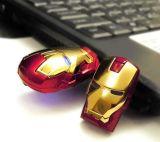 2016 Vengadores Iron Man Pen Drive USB Flash Drive 4GB 8GB 16GB 32GB de memoria USB
