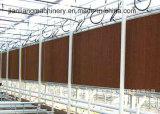 온실 사용을%s 7060의 시리즈 브라운 산업 냉각 패드