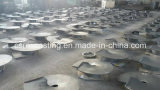 OEM Sand Castings Screw Propeller per Coal Mine