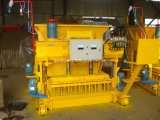 Machine creuse concrète mobile automatique de la brique Qmy6-25/machine de fabrication de brique