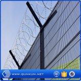 El PVC pintó los 3 paneles de acero soldados D de la cerca con precio de fábrica