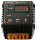 Regulador solar del sistema eléctrico de la batería del regulador de PWM 12V 24V 20A con el voltímetro