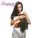 Человеческие волосы бразильянина волны естественной Unprocessed девственницы глубокие