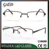 Última lente popular Eyewear del marco óptico del metal del diseño