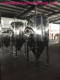 ステンレス鋼のジャケットビール発酵タンク