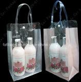Saco plástico da embalagem do PVC para a composição e a beleza
