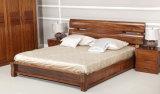 Camas matrimoniales modernas de la cama de madera sólida (M-X2250)