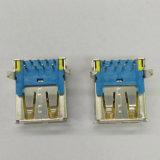 USB3.0 a/F amarelo do MERGULHO de 90 graus