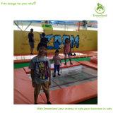 Het grote Park van de Trampoline van de Pret Kleurrijke Binnen voor Jonge geitjes en Ouders