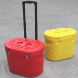 Das Wandern des kampierenden kühleren Kastens passte kühleren Kasten 20L PET Partable gehandhabten kühleren Kasten an