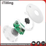 Kundenspezifischer weiße Bluetooth 4.0 Mini-GPS Verfolger für Beutel