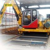 Máquina resistente do carro de transferência do veículo de transporte do trilho do uso da fábrica