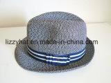 Sombrero del sombrero flexible de la trenza del padrenuestro/de la paja de la manera para los adultos